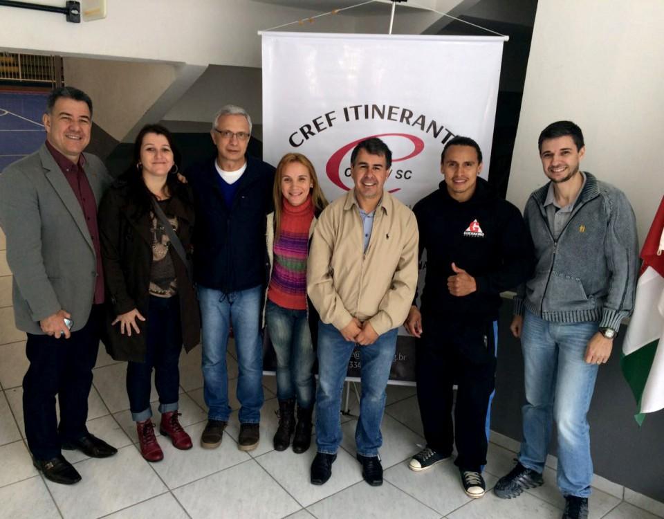 CREF Itinerante Jaraguá do Sul