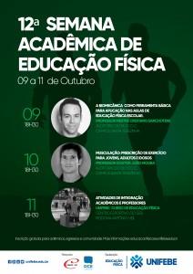 Semana academica - Cartaz A3