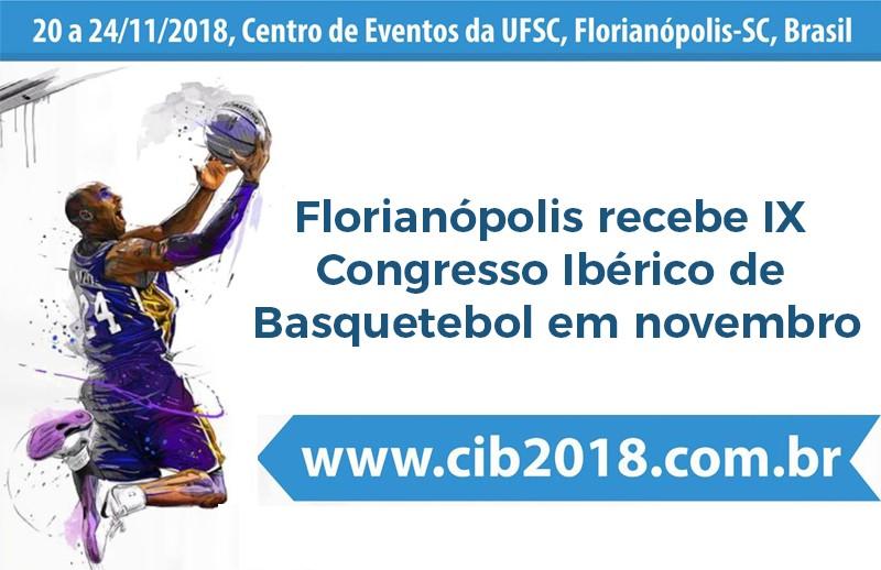 Florianópolis recebe IX Congresso Ibérico de Basquetebol em novembro
