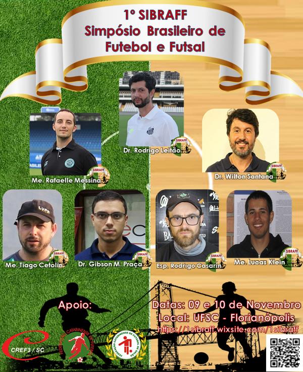 3062de7d45df8 UFSC realiza 1º Simpósio Brasileiro de Futebol e Futsal