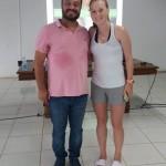 Natação com Thiago Ferreira . Veronice