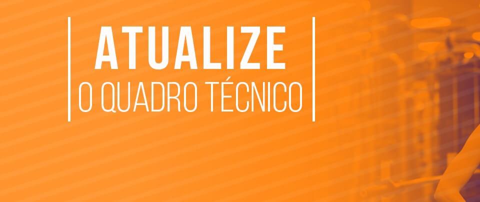 Banner quadro tecnico